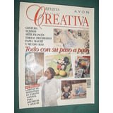 Revista Creativa 2 Avon Decoupage Papel Mache Arte Frances