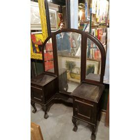 Comoda antigua con espejo c modas antiguos en mercado - Comoda con espejo ...