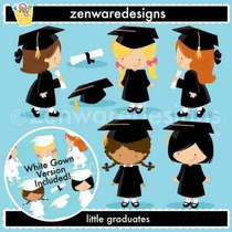 Kit Imprimible Graduacion 7 Imagenes Clipart