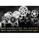Telecine Digitalización De Filmes 8mm, Super 8mm Y 16 Mm