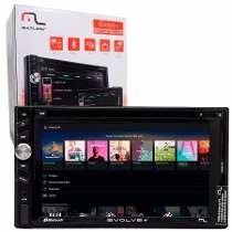 Dvd Multilaser Evolve Tv Digital Gps Bluetooth Radio Usb Som