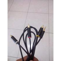 Cable Audio Y Video Xbox 360 E Original No Hdmi