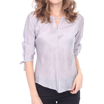 Blusa Fashion Elegante Y Casual Ligera Escote Discreto