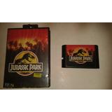Video Juego Jurassic Park Para Sega 16 Bits