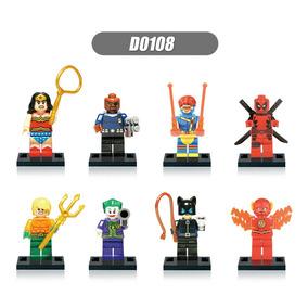 Lego Compativel Batman Série Clássica Anos 60 Frete Gratis