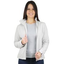 Casaco Térmico Feminino Thermo Fleece - Cinza Claro Fiero