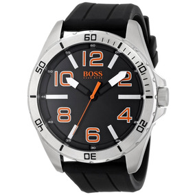 Boss Orange 1512943 Big Time Reloj Negro Con Movimiento Cua