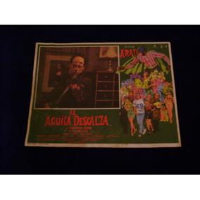 El Aguila Descalza Alfonso Arau Lobby Card Cartel C1 30.8.1
