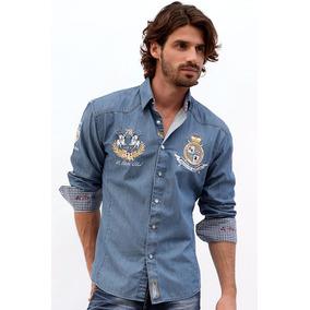 Camisa Absolute Rebellion Django Mezclilla