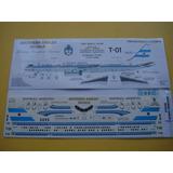 Calcas De Boeing 757-200 T-01 De Presidencia De La Nación