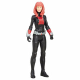 Scarlet Black Widow Titan Hero 30 Cm - Flores / Microcentro
