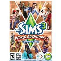 The Sims 3: World Adventures (pc & Mac) Trotamundos Fisico