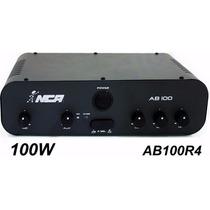 Amplificador De Mesa Ab100r4 Nca Som Ambiente