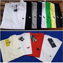 Kit 10 Camisetas Camisas Masculina Bordadinho Marca Atacado