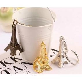Torre Eiffel Paris Llaveros Recuerdos Boda Xv Años Novios