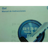 Manual 100% Original Del Propietario: Vw Gol 1997