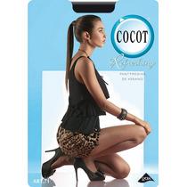 Cocot 71 Panty Media Sin Puntera Refreshing Lycra 20 Den