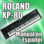 Roland Xp-80 - Manual En Español