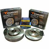 Jgo. De Discos Corven Y Pastillas Bosch Peugeot 206-207 1.6v