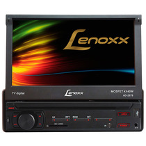 Dvd Player Automotivo Lenoxx Tela 7 Retrátil Com Tv Digital