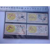 4 Antiguas Estampillas De Juegos Olimpicos Munich 72