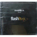 Cd Amaury Jr. Flash Music - Novo Original Lacrado