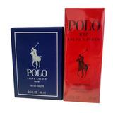 Miniatura Ralph Lauren Polo Blue 15ml + Polo Red 30ml