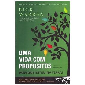 Livro Uma Vida Com Propósitos-ed.vida