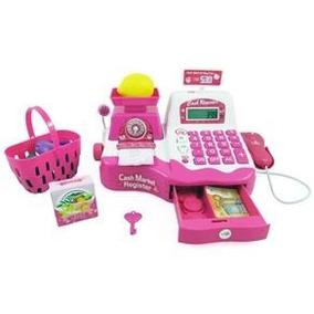 Caixa Registradora Infantil Com Leitor Microfone Balanca E M