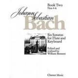 Johann Sebastian Bach,six Sonatas For Flute And Envío Gratis