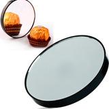 3 Espelho De Aumento 10 X Maquiagem Sobrancelha Com Ventosa