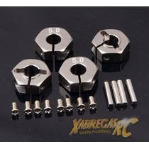 Adaptador De Roda Sextavado 12mm (furo 5mm) 1/10 - Alumínio