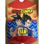Piñata Personalizada Cumpleaños Dragon Ball Z Goku Vegeta