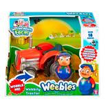 Weebles Diversion En La Granja - Tractor C/ Granjero - 05475