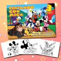 Libritos Para Pintar Personalizados-souvenir Super Original!