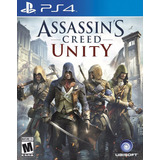 Assassins Creed Unity Ps4 Fisico New Full Gamer