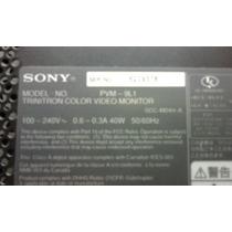 Video Monitor Profesional Sony, Modelo Pvm-9l1, Trinitron