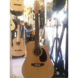 Guitarra Electroacústica 12 Cuerdas Segovia Sgd20ec Natural
