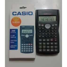 Calculadora Científica Casio Fx82 Ms, Doble Linea