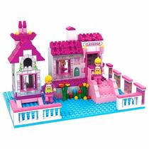 Escolinha Blocos De Montar Meninas 248 Pçs Ausini 24501 Lego