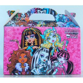 Bolsita Valijita Monster High Souvenir Infantiles Pack X40
