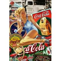 Carteles Antiguos En Chapa Gruesa 20x30cm Coca Cola Dr-360