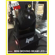 Cabeza Movil Mini Beam Led //rgbw Mini Beam Led Lucespro Dmx