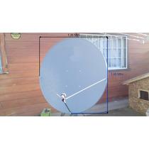 Antena Parabolica 1.35 X 1.45 Mtrs Apta Banda C, Ku, Ka