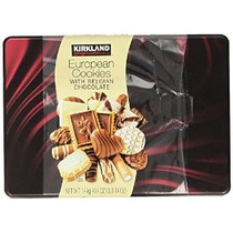 Kirkland Signature Cookies Europeos Con Chocolate Belga 49,4