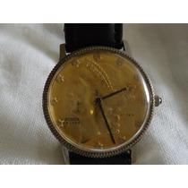 Reloj Rodox De Luxe Vintage Único Caratula De Moneda