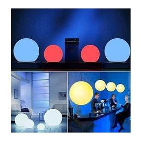 Combo 4 Esferas Bolas De Led Rgb +control+fuente En Lomas