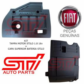 Kit Tampa Motor Stilo 1.8 16v Capa Bateria Original Fiat