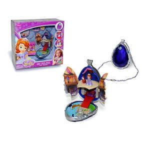 Amuleto Disney Princesita Sofia Luz Sonido 3 Personajes