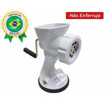 Moedor Picador Triturador De Carne Manual C/ Ventosa+brinde